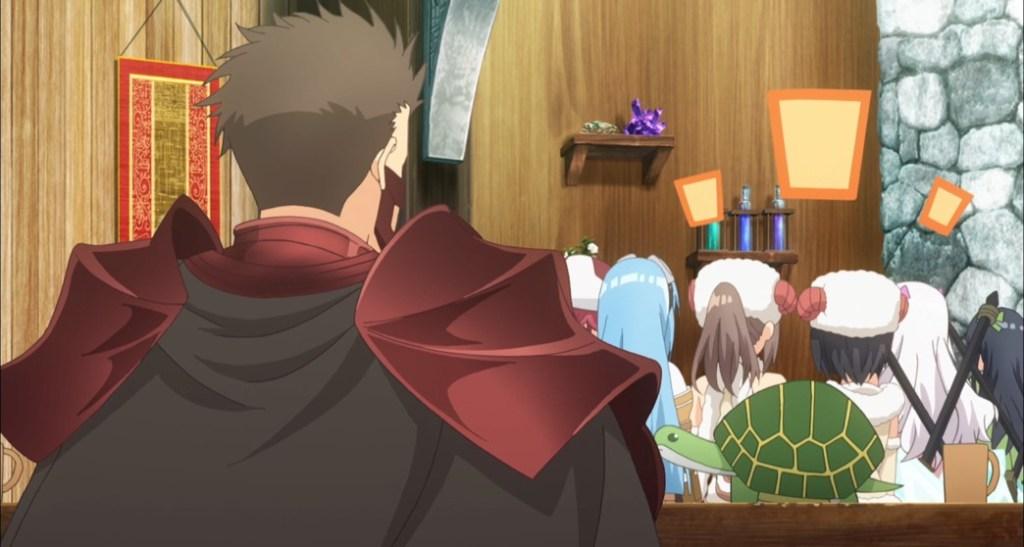 BOFURI Episode 8 Kuromu Surrounded by Cuteness