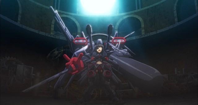 BOFURI Episode 8 Maple Defeating the Machine God