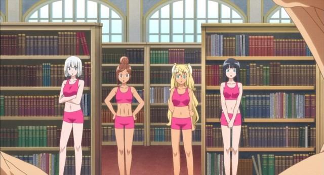How Heavy Are The Dumbbells You Lift Episode 11 Zina Uehara Hibiki Akemi Isometric Exercises Demonstration