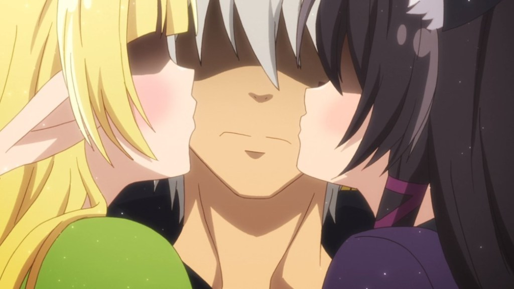 How Not To Summon A Demon Lord Episode 1 Shera And Rem Summon Diablo With A Kiss