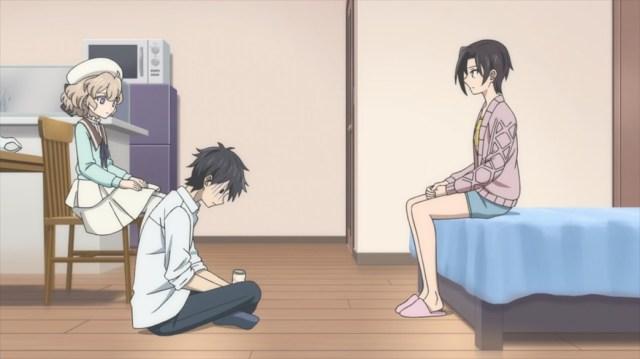 InSpectre Episode 5 Kurou Kotoko and Saki