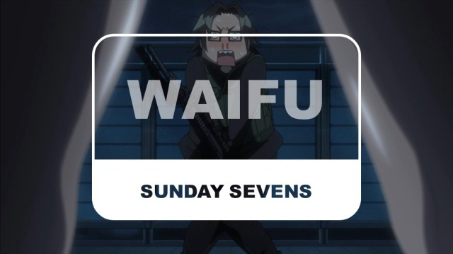 The Otaku Author Sunday Sevens Waifu