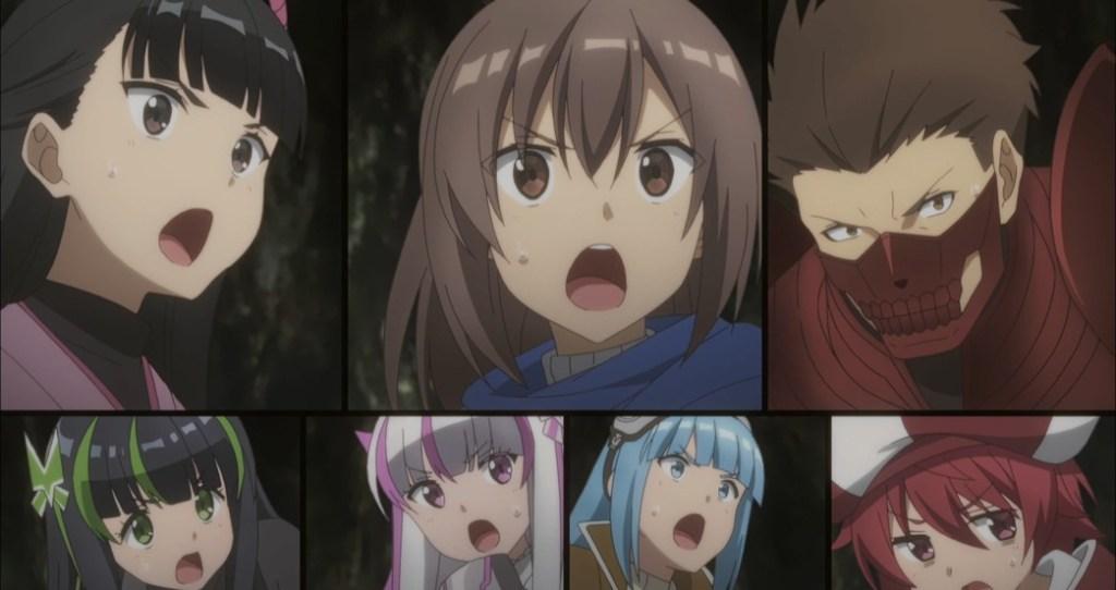BOFURI Episode 11 Maple Tree Shocked