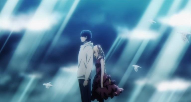 Darwin's Game Episode 11 Kaname and Shuka