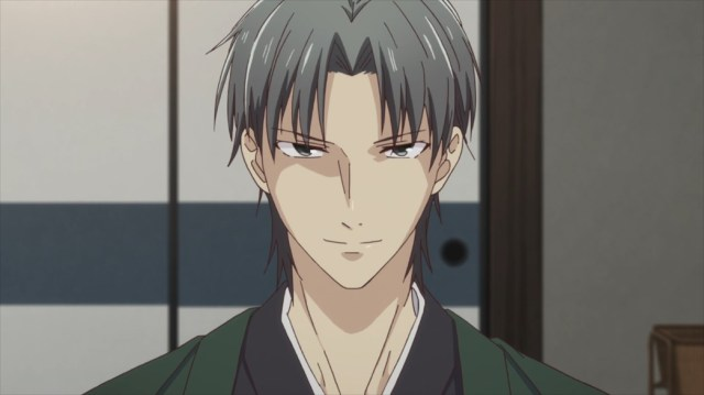 Fruits Basket Episode 10 Shigure Plotting Something