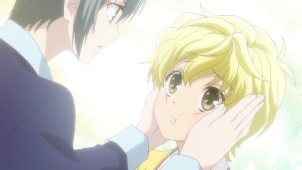 Fruits Basket Episode 11 Yuki and Momiji