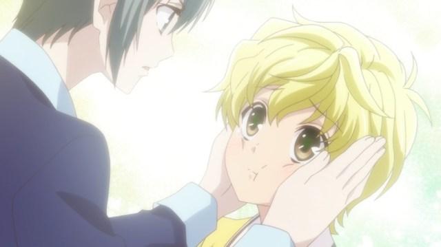 Fruits Basket Episode 11 Yuki and Momiji