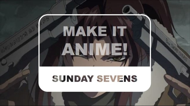The Otaku Author Sunday Sevens Make It Anime