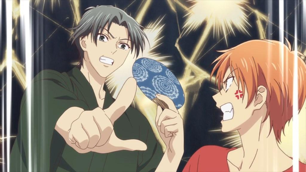 Fruits Basket Episode 26 Shigure and Kyo