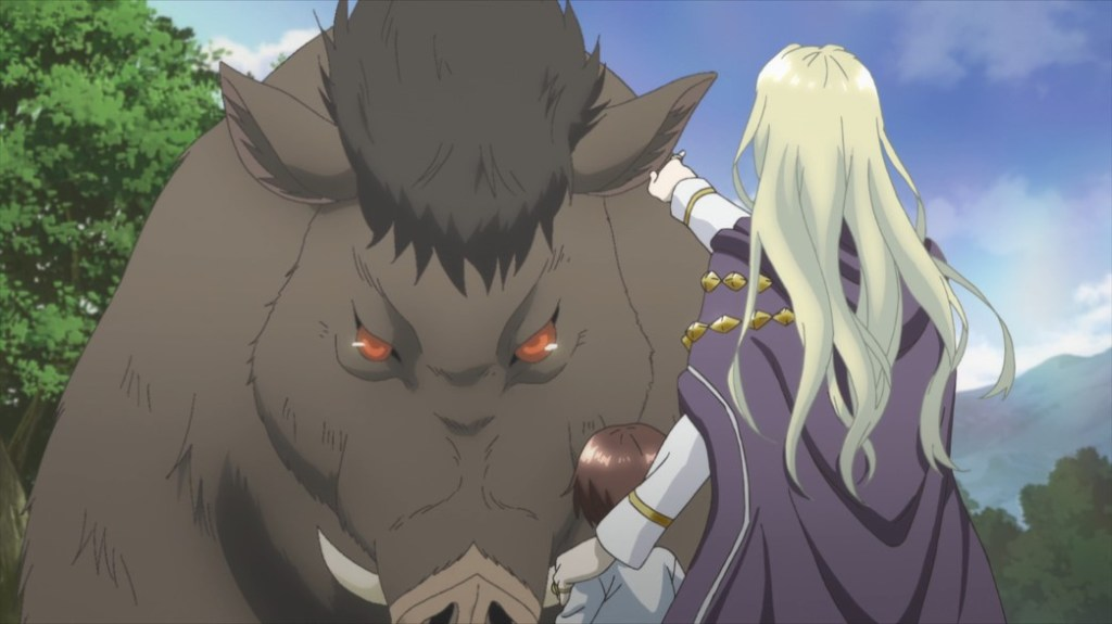 The 8th Son Are You Kidding Me Episode 1 Young Well and Alfred face a Giant Boar
