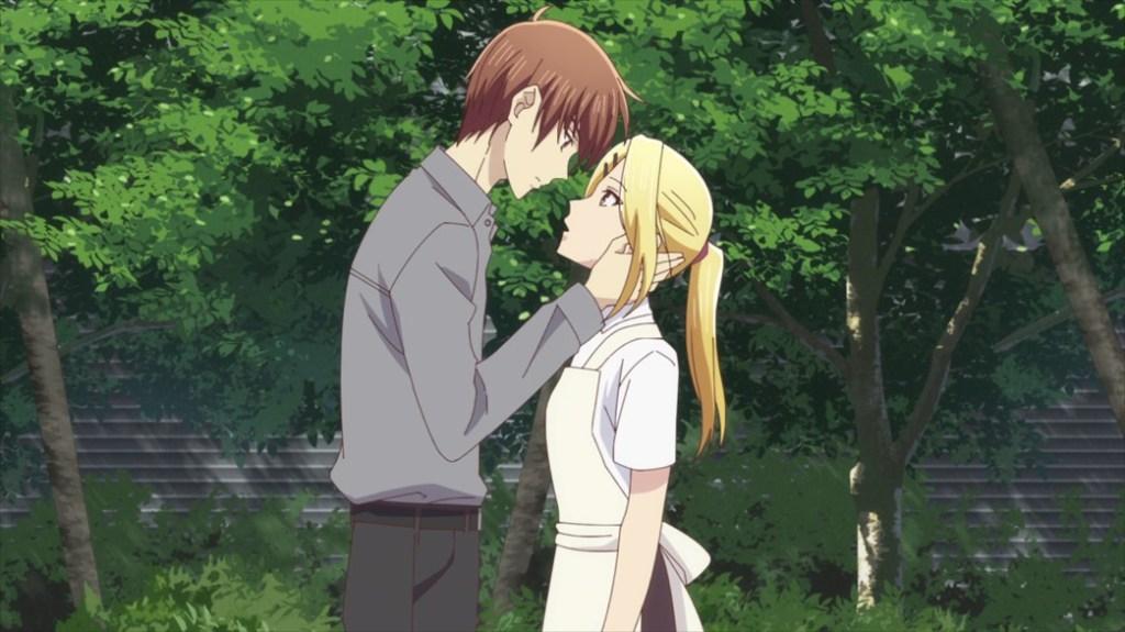 Fruits Basket Episode 30 Kureno and Arisa