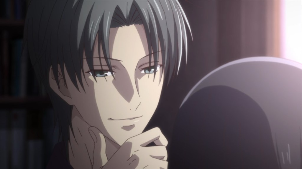 Fruits Basket Episode 31 Shigure and Rin