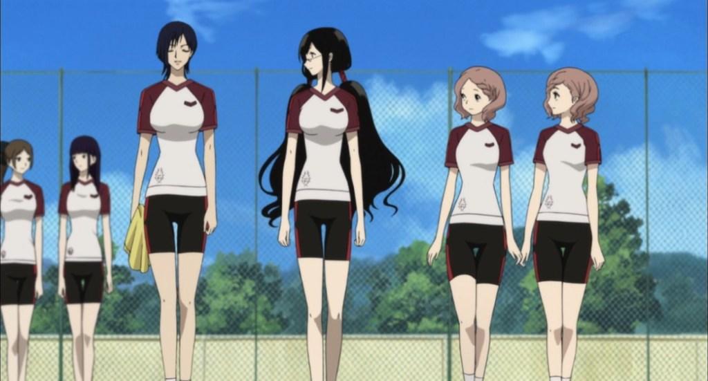 Blood C Episode 1 Saya Yuuka Nene and Nono