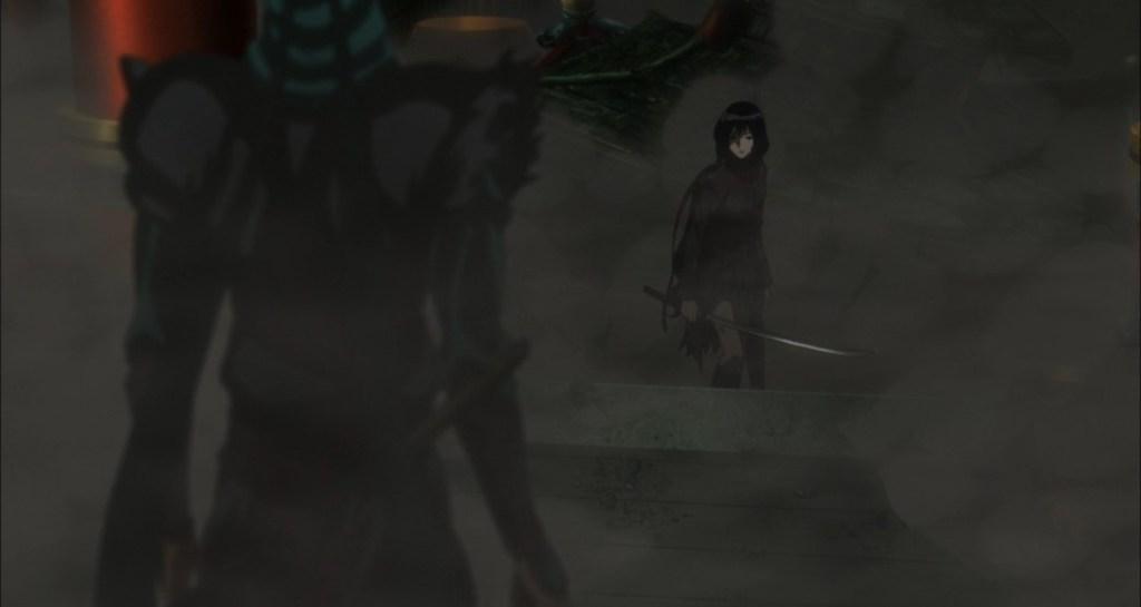 Blood C The Last Dark Saya versus Fumito's Men