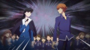 Fruits Basket Episode 45 Dark Cinderella Saki and Kyo