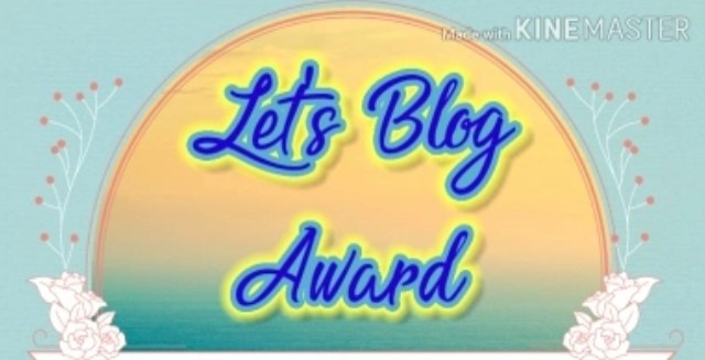 Let's Blog Award