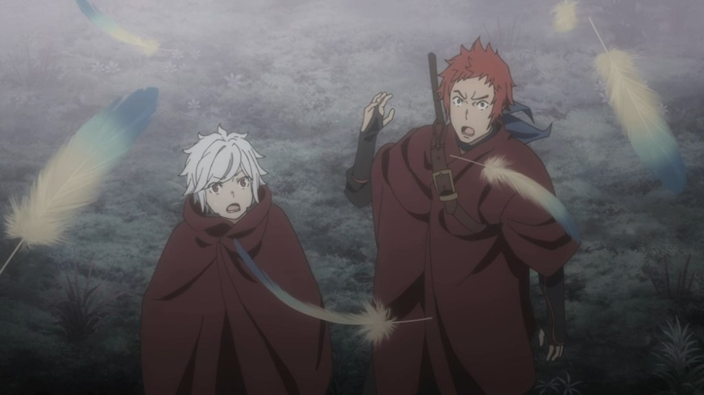 Is It Wrong To Try To Pick Up Girls In A Dungeon III Episode 2 Bell and Welf are approached by another talking monster