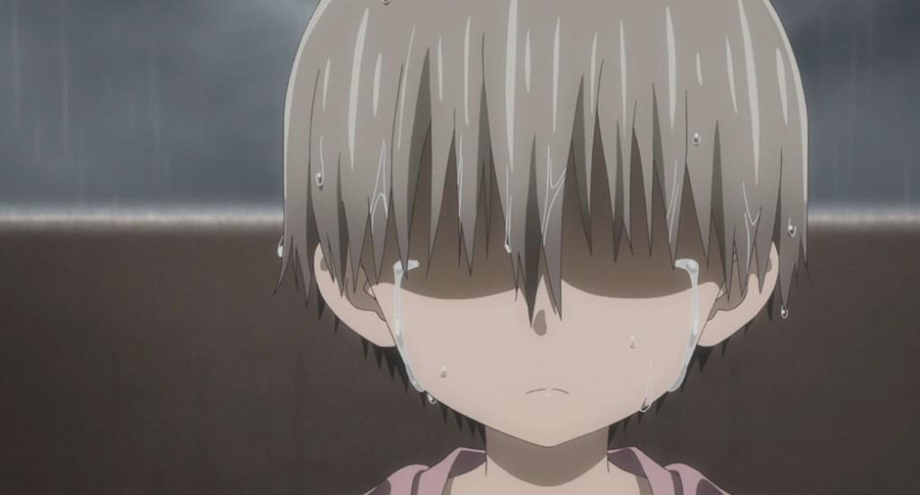 Uzaki Chan Wants to Hang Out Uzaki crying