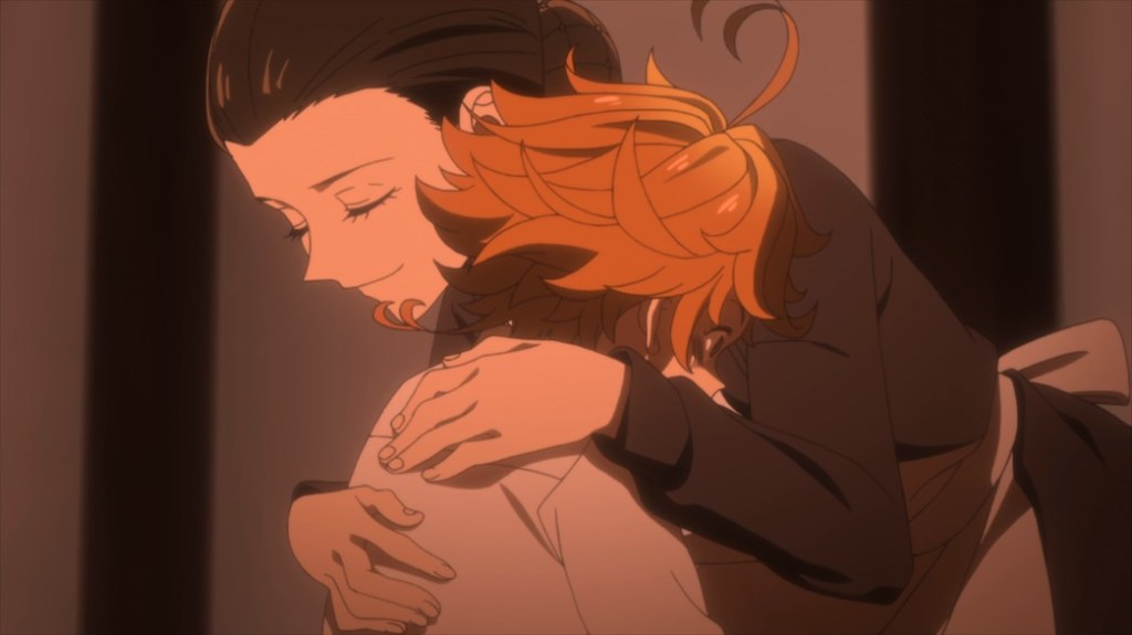 The Promised Neverland Episode 10 Mom makes Emma an offer