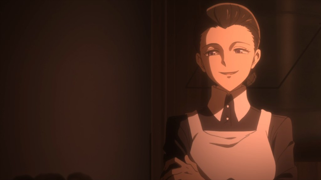 The Promised Neverland Episode 5 Mother Smiles
