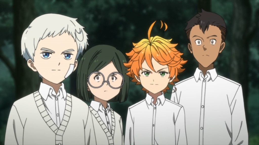 The Promised Neverland Episode 7 Norman Gilda Emma and Don