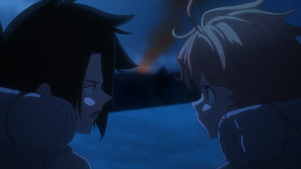 The Promised Neverland Episode 12 Ray and Emma