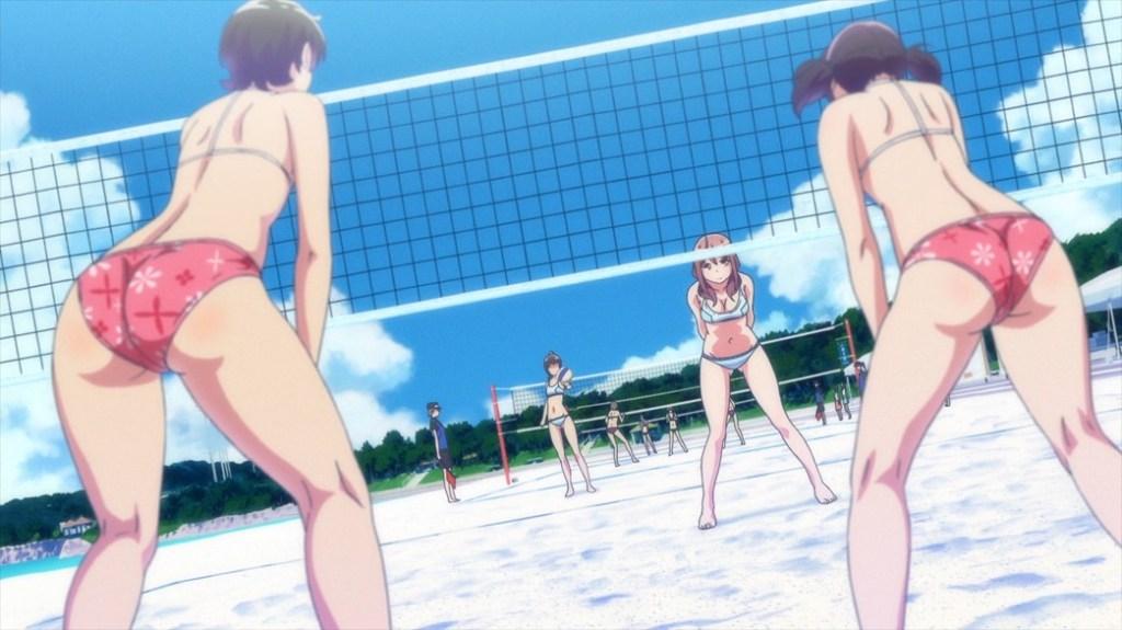 Harukana Receive Episode 5 Kanata Higa and Haruka Oozora versus Ai Tanahara and Mai Sunagawa
