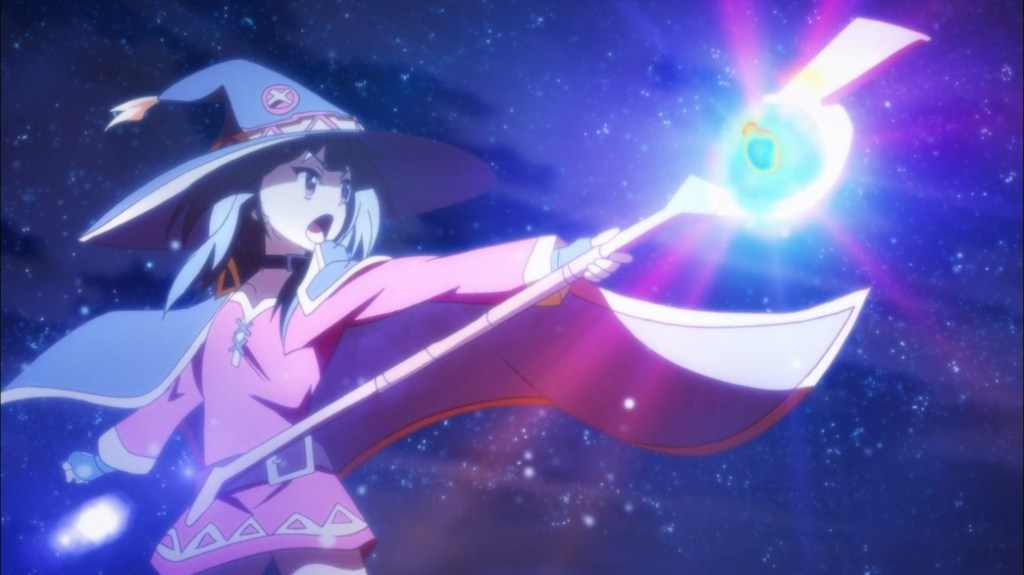 KonoSuba Episode 6 Megumin uses Explosion Magic