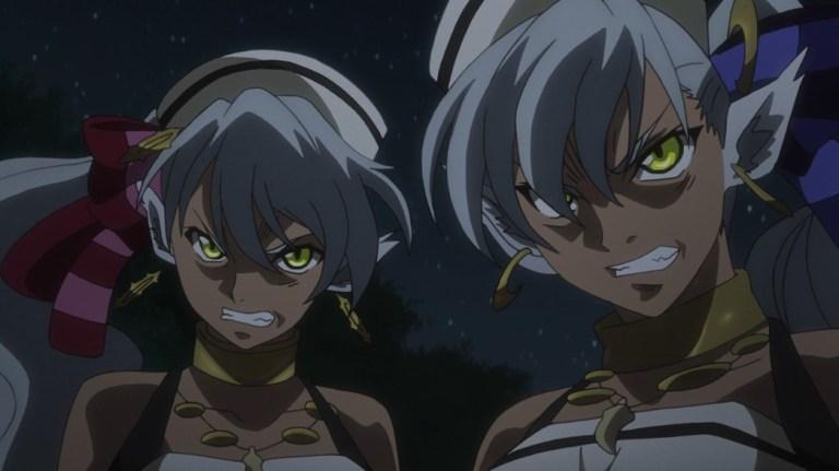 Record of Grancrest War Episode 7 Emma and Luna
