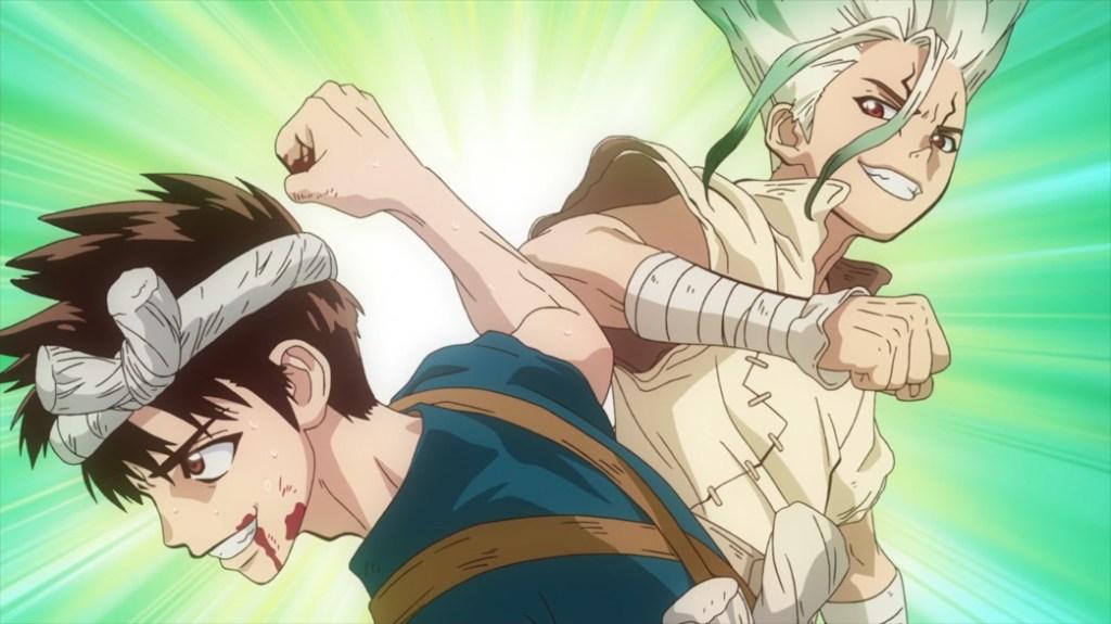 Dr Stone Stone Wars Episode 6 Senku and Chrome