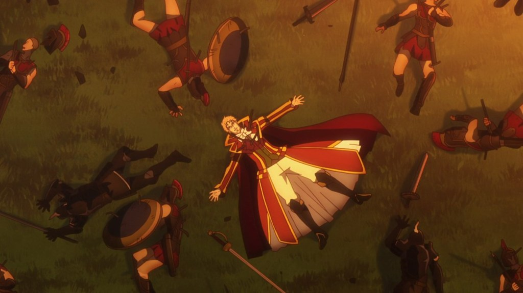 Record of Grancrest War Episode 10 The Theatre King of Kilhis