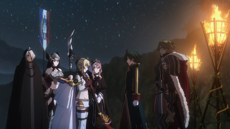 Record of Grancrest War Episode 22 Priscilla heads out to see the Pope