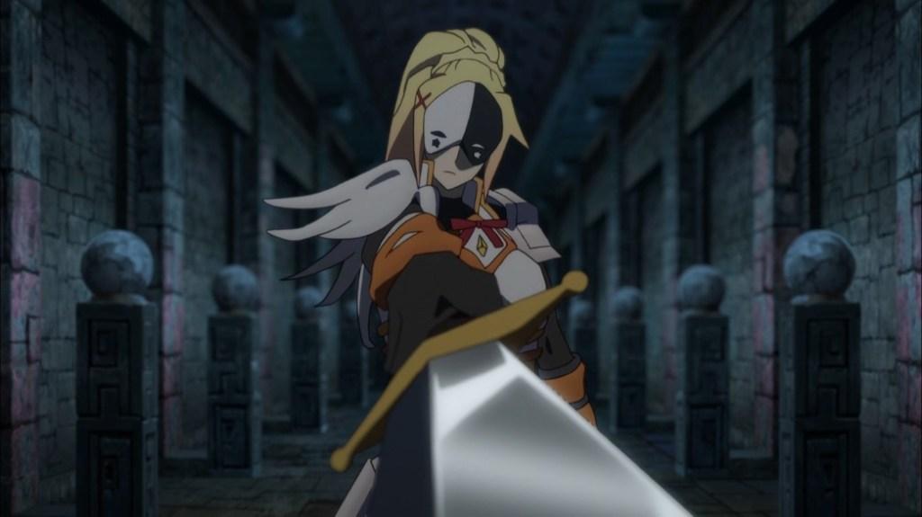KonoSuba Episode 16 Darkness possessed by Vanir