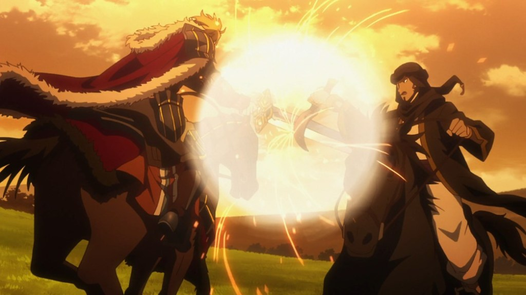 Record of Grancrest War Episode 12 Milza versus David Lasic