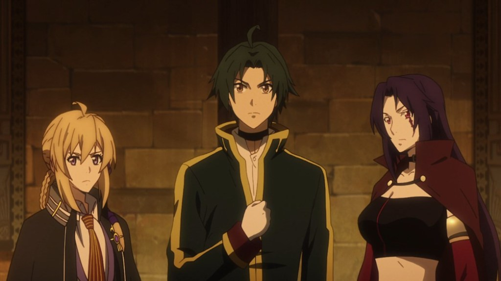 Record of Grancrest War Episode 13 Siluca Theo and Aishela