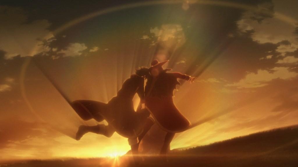 Record of Grancrest War Episode 13 Theo kills Salvador Rossini