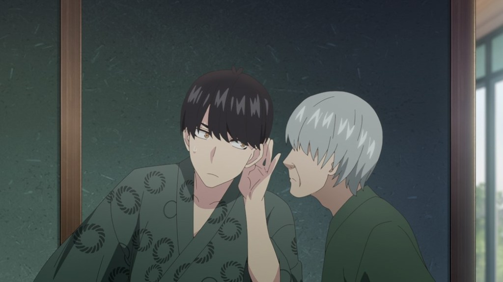 The Quintessential Quintuplets Episode 20 Futaro and Grandpa