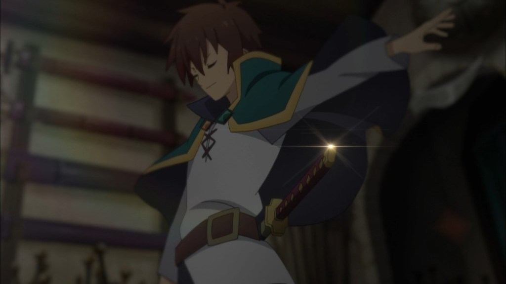 KonoSuba Episode 17 Kazuma's new sword