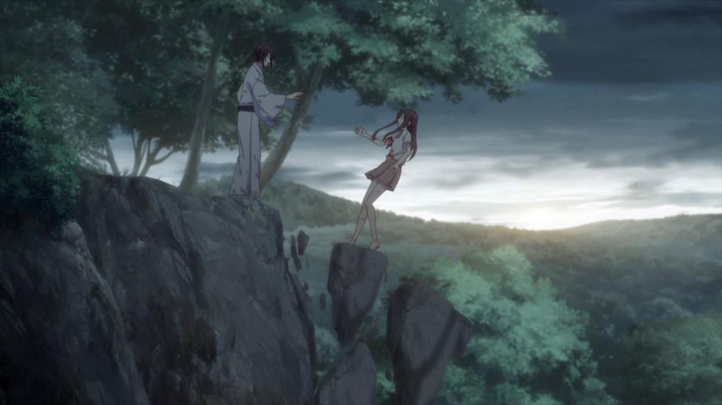 Fruits Basket Episode 59 Tohru falls off the cliff