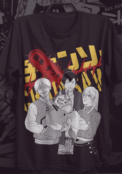 Camiseta Chainsaw Man