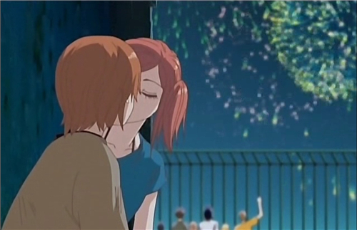 Anime Kiss Scenes - Lovely Complex Anime