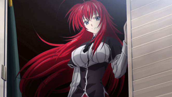cutest anime characters - Rias Gremory