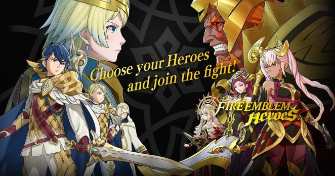 Fire Emblem Heroes game for iphone 2018