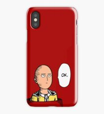 One Punch Man Saitama anime phone case