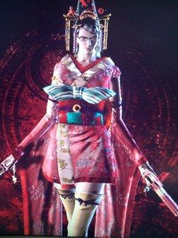 Bayonetta en Kimono