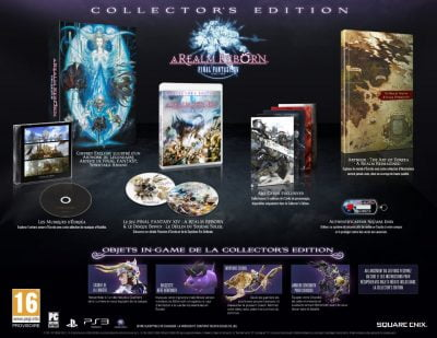 Final Fantasy XIV : A Realm Reborn - édition collector (25€79)