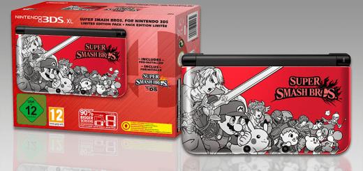 3DS XL Super Smash Bros