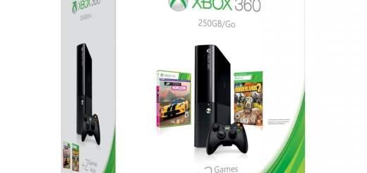 La Xbox 360 new gen + Borderlands 2 + Forza Horizon + Gears of War Judgement pour 199€ !