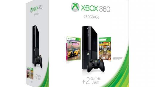 La Xbox 360 new gen + Borderlands 2 + Forza Horizon + Gears of War Judgement pour 199€ !