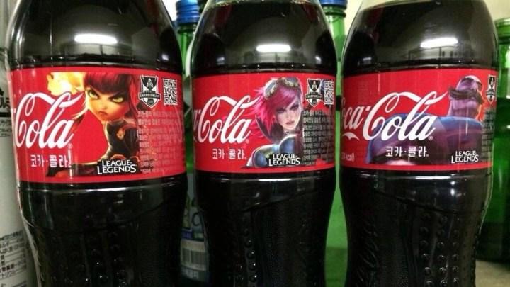 Coca-Cola : League of Legends edition...